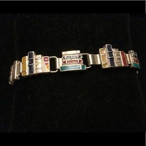 📘For the book lover📗a STERLING 3D book bracelet!